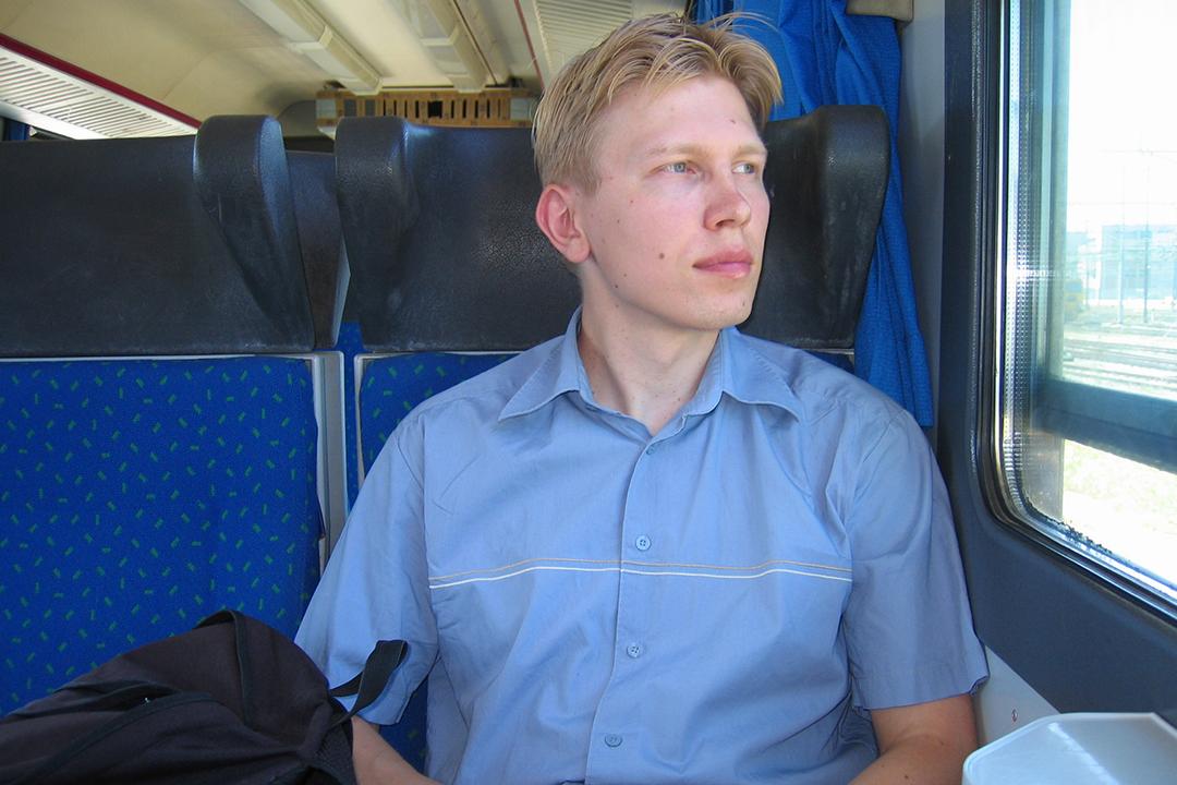 Junassa Italiassa