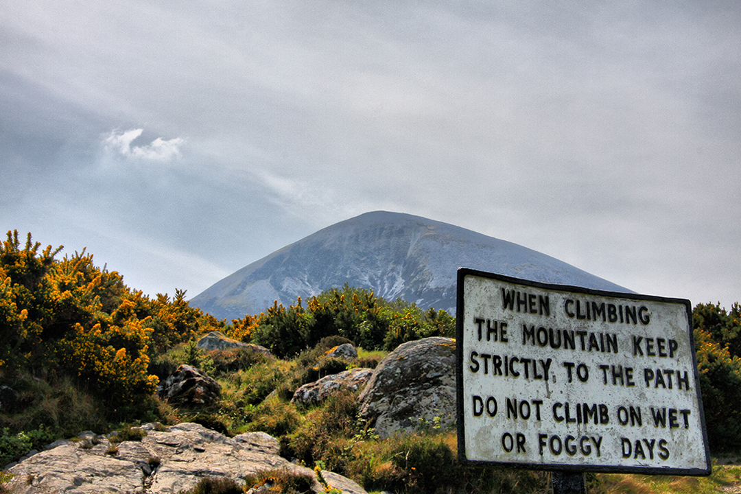 Croagh Patrick - Copyright Tourism Ireland