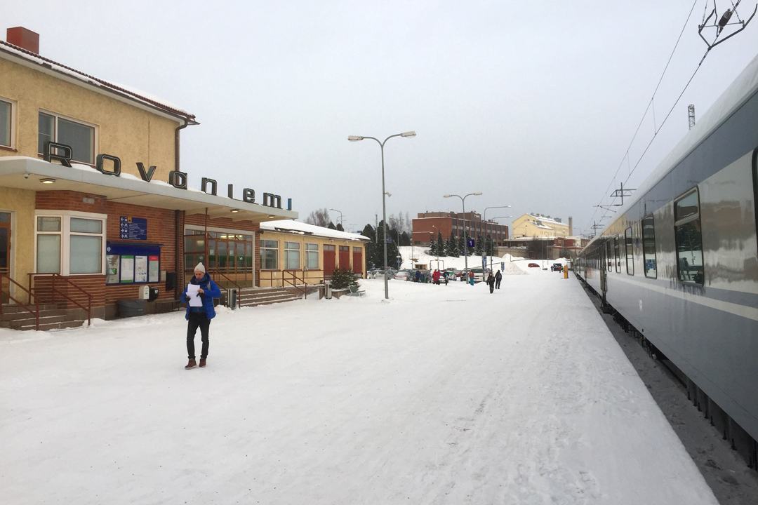 Rovaniemen rautatieasema
