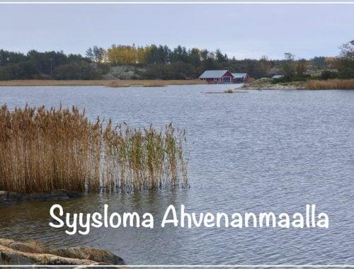 Syysloma Ahvenanmaalla