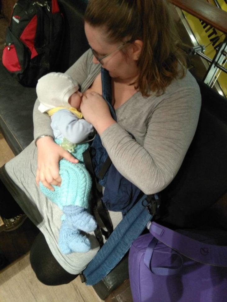 Vauvan ensimmäinen lentomatka