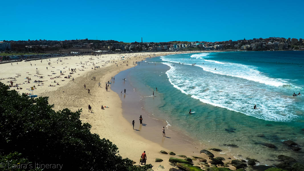 how to get to coogee beach from bondi junction