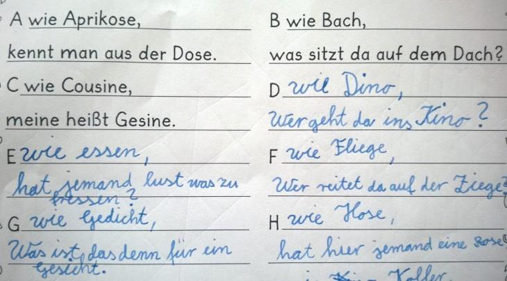 ulkopuolella saksan kieli käsityö