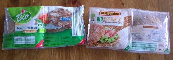 Juuri mitään suomalaisia elintarvikkeita ei saksalaisista ruokakaupoista löydy. Poikkeuksena tälläiset luomu-ruisleivät, joita saa melkein joka ruokakaupasta. Lidlissä myytävässä lukee valmistajana Pekan Leipä Oy.