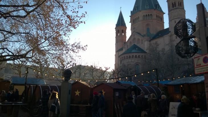 Mainzin joulumarkkinoilla