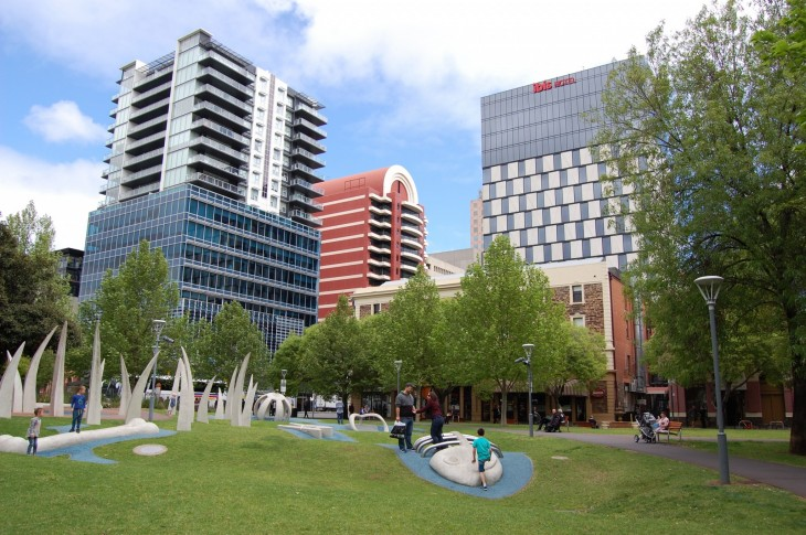 Hindmarsh Square Sculptures