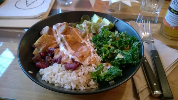 buddah bowl vegaaniruoka Mainz