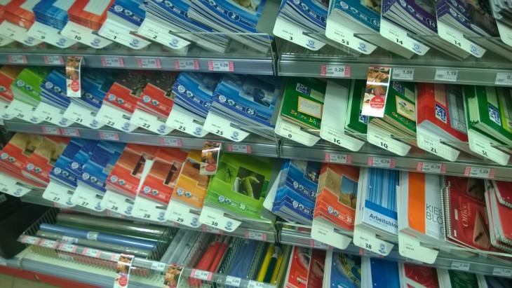 Saksassa ostetaan itse koulutarvikkeet