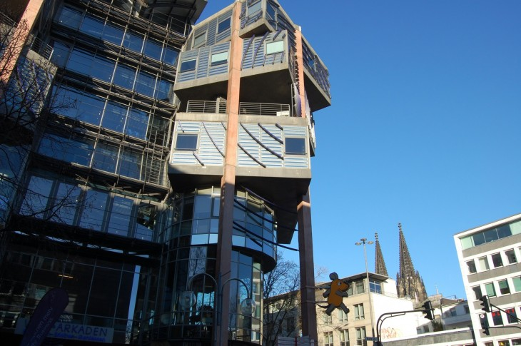 moderni Köln, ostoskatu Breite Strasse