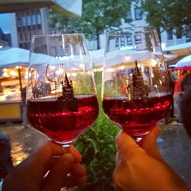 Illanviettoa Klnin viiniviikoilla Kippis ja Prost! Ja kiitos seurasta duunireissaajahellip