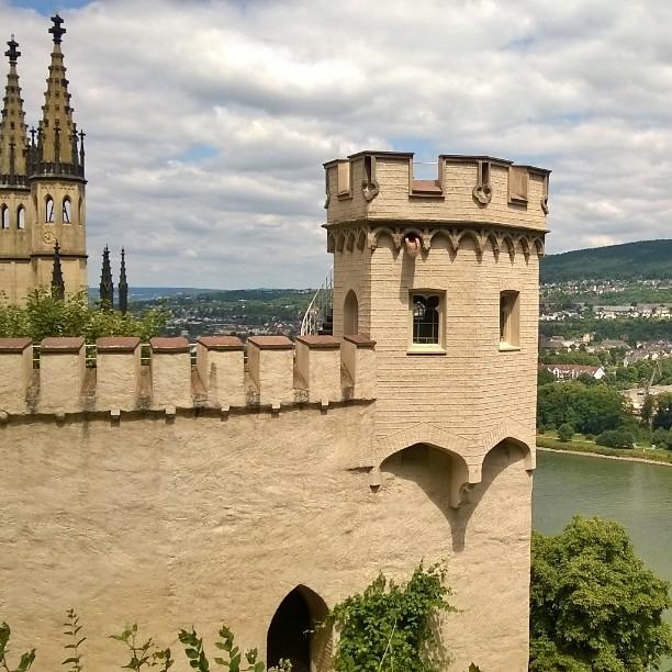 Schloss Stolzenfels Koblenz DE stolzenfels schlossstolzenfels castle germancastles rhein rheintalhellip