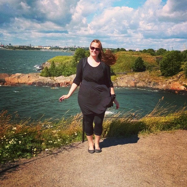 Greetings from sunny and windy Suomenlinna Helsinki Finland! visithelsinki myhelsinkihellip