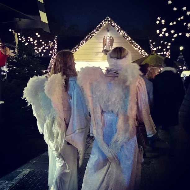 You can see angels at Cologne Christmas market engelmarkt klnhellip