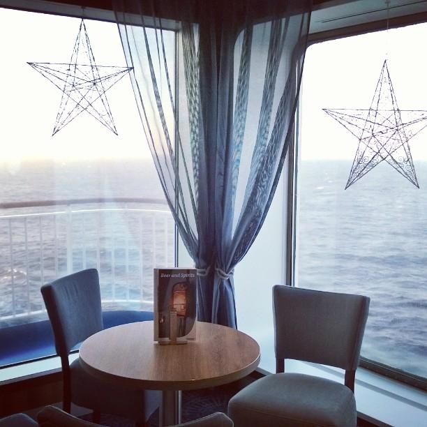 Tulimme joulukuussa Finnlinesin kyydill Saksasta Suomeen Laivalla on mukava tyylikshellip