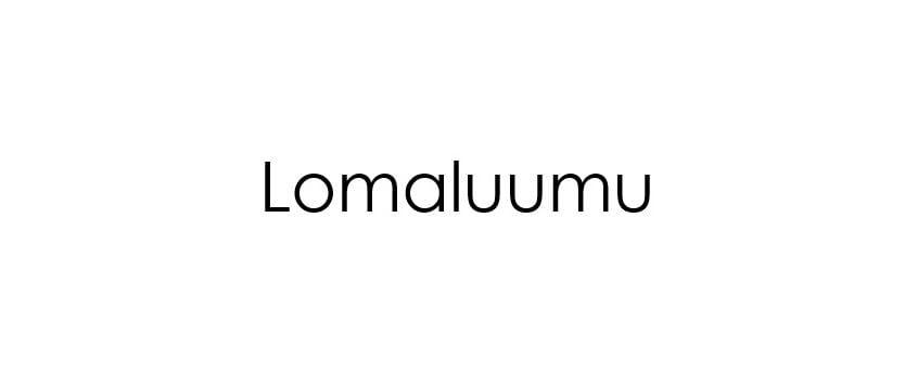 Lomaluumu