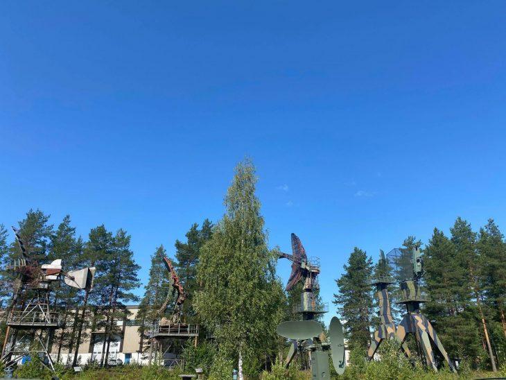 Matkan varrella Suomen Ilmavoimamuseossa Tikkakoskella