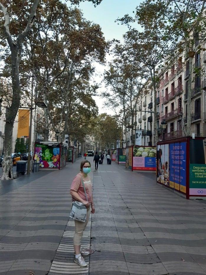 Syyslomailemassa Barcelonassa