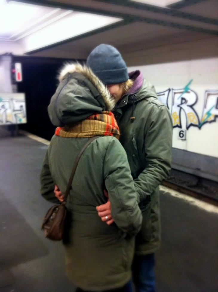 Berliini 2013. Minä ja Marko. (Kuva: Marjukka Muhonen)