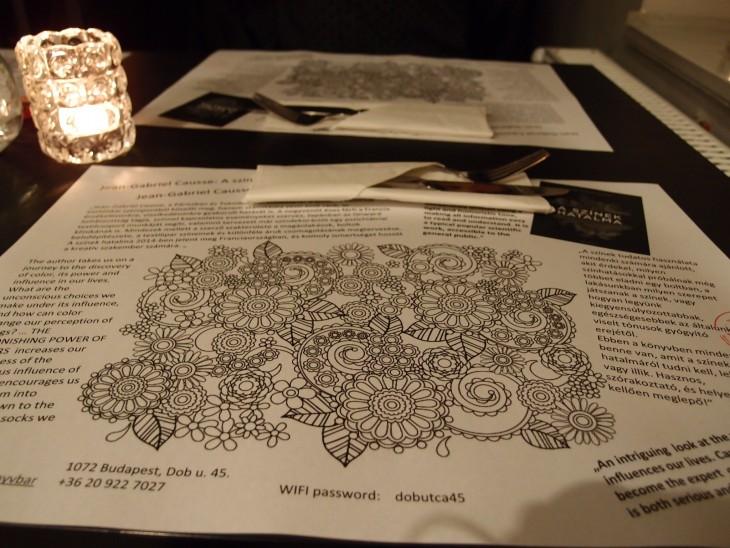könyv bar restaurant