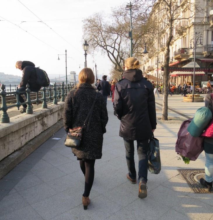 outi ja marko budapestissä