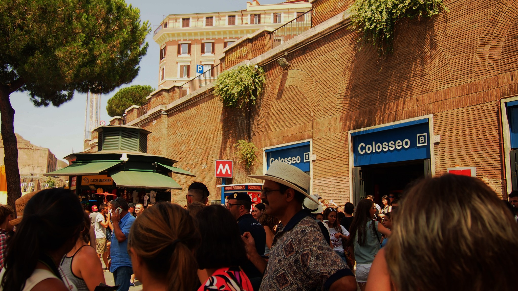 Colosseo metro