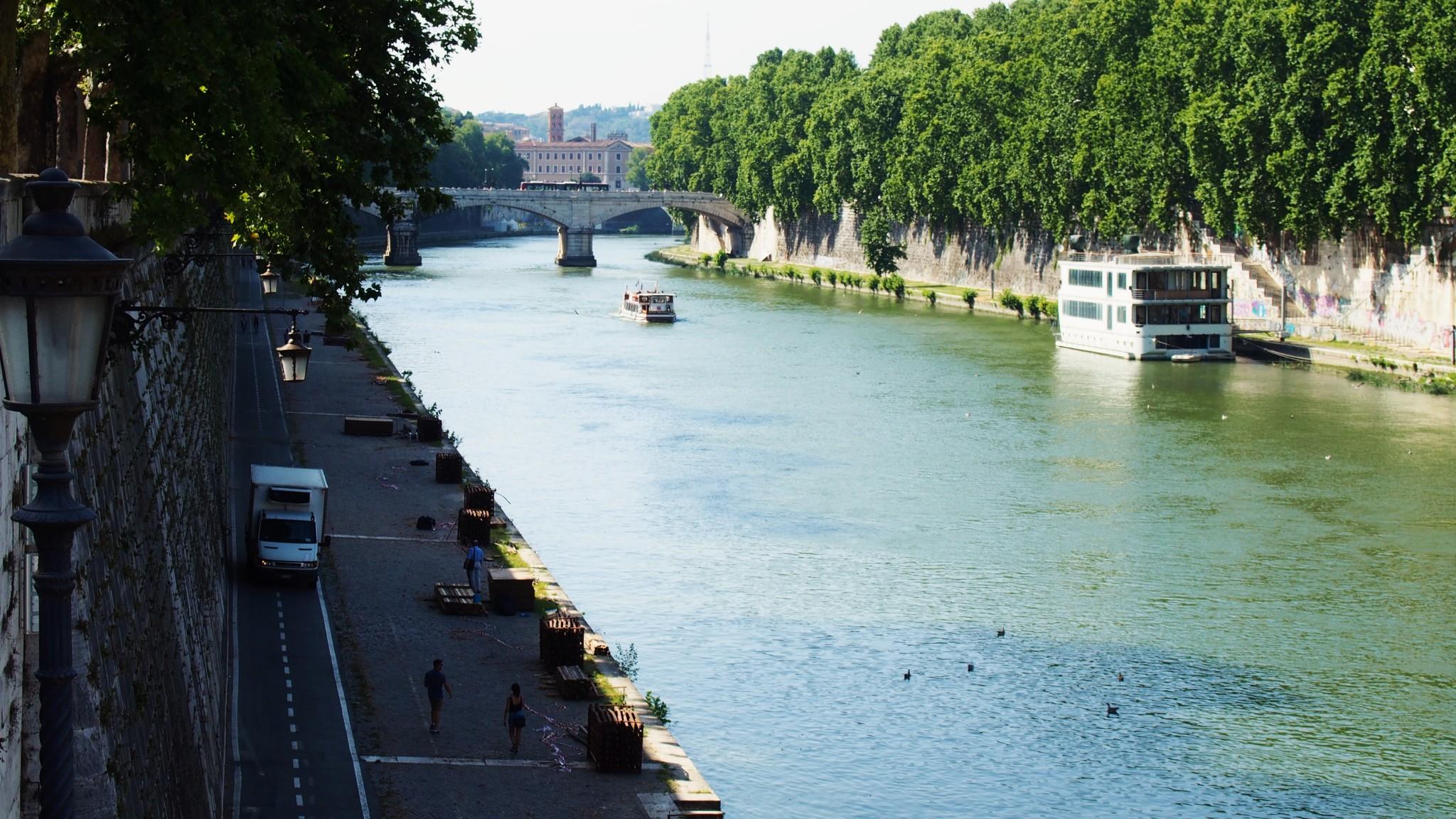 Tiber joki Rooma