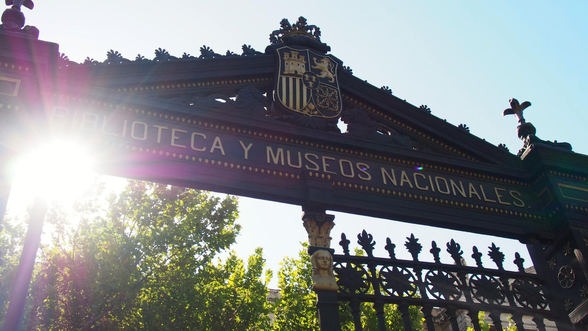 Biblioteca y museos nacionales