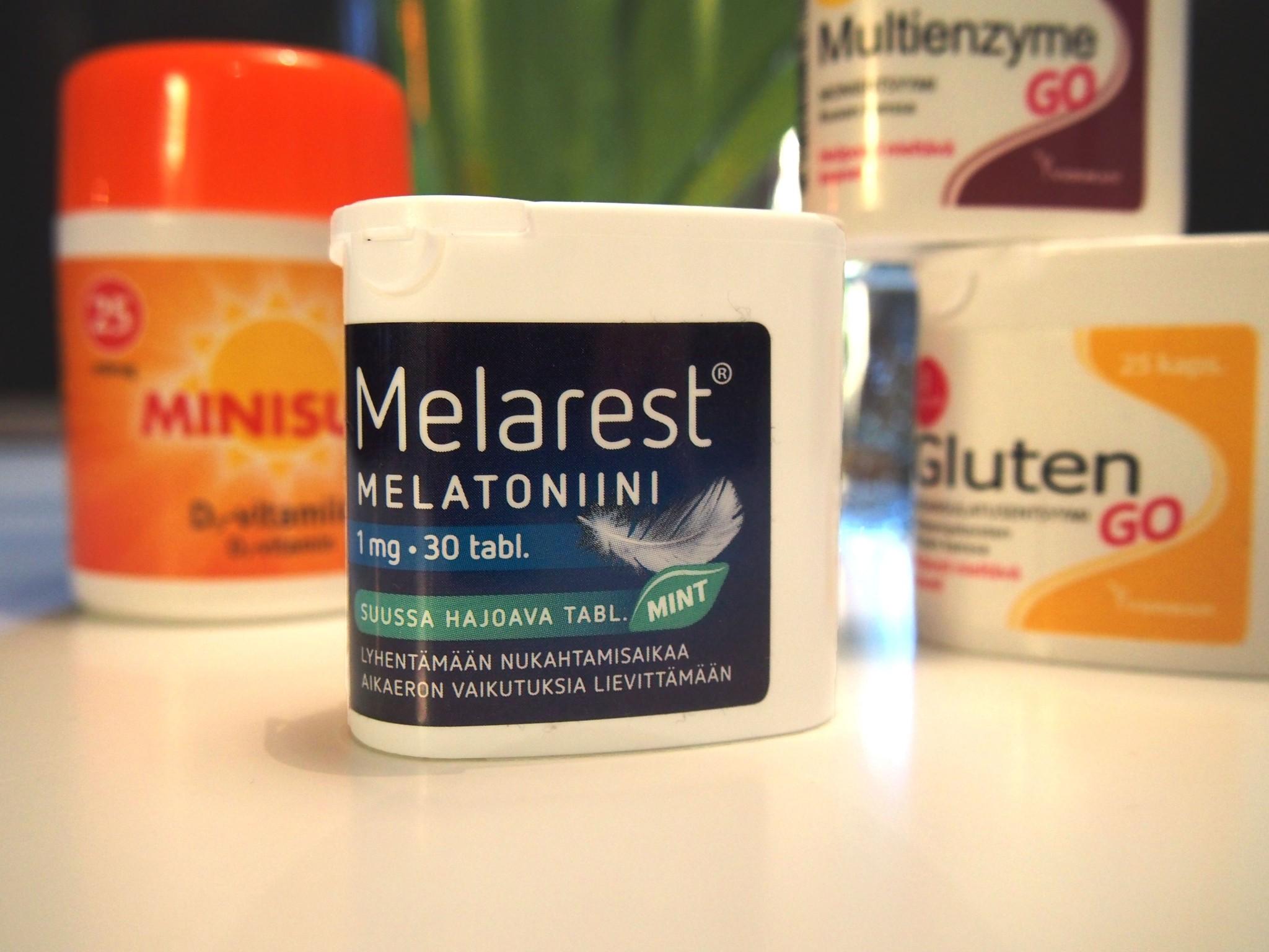 melatoniini aikaerorasitukseen