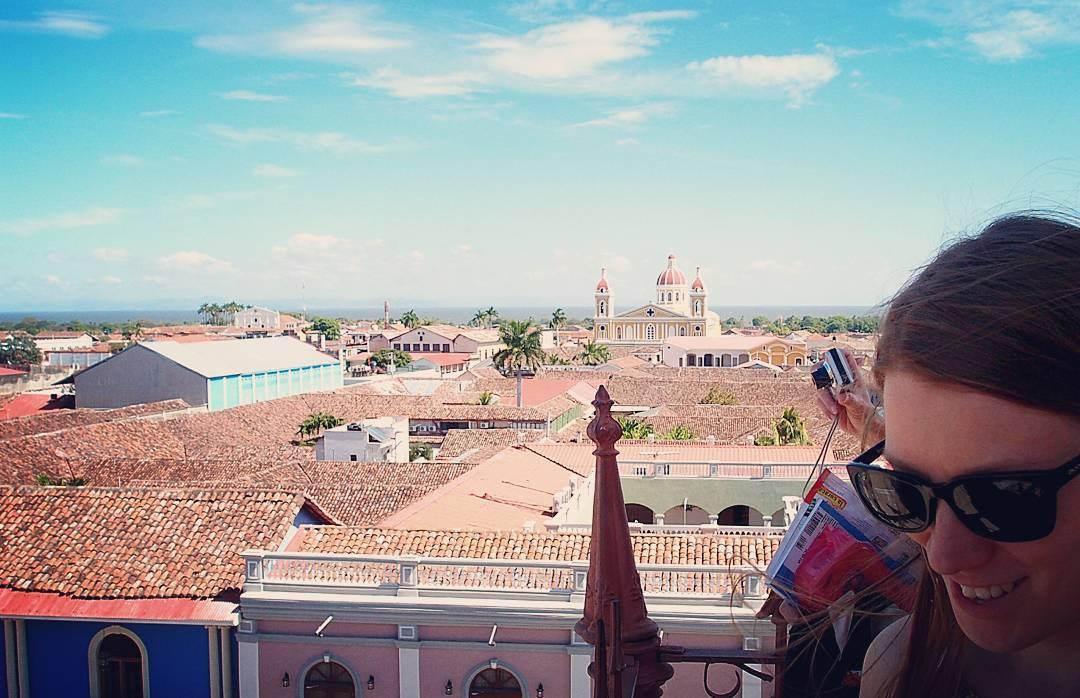 Granada Nicaragua näköala Instagram Travel Thursday