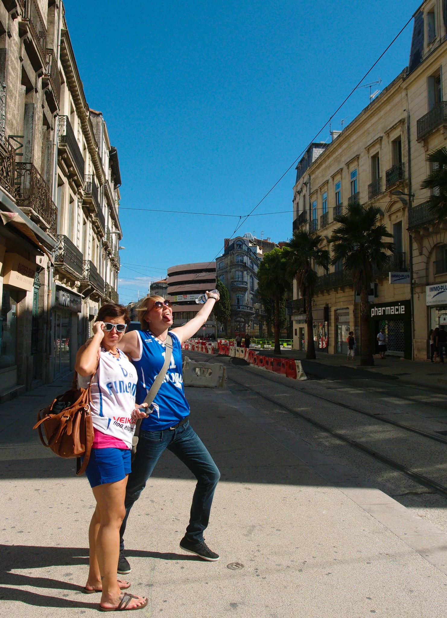 Montpellier Ranska susijengifanit