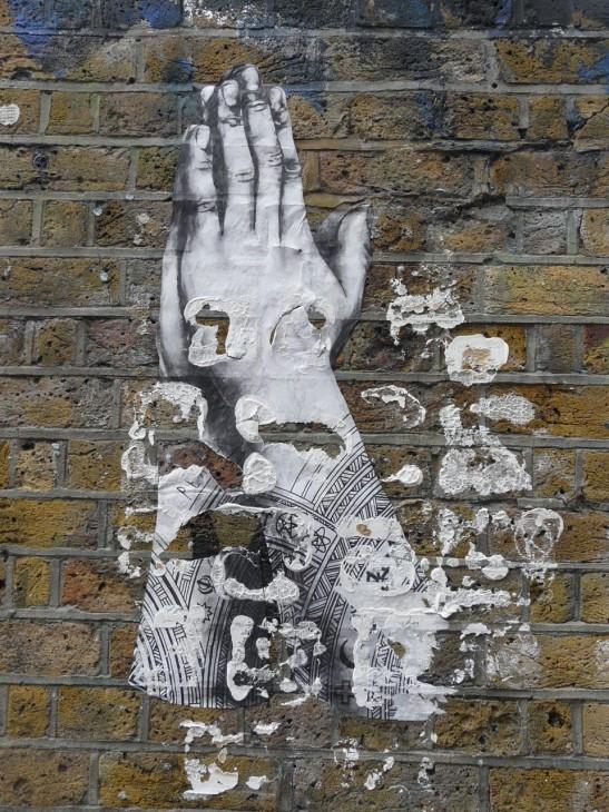 hands wall