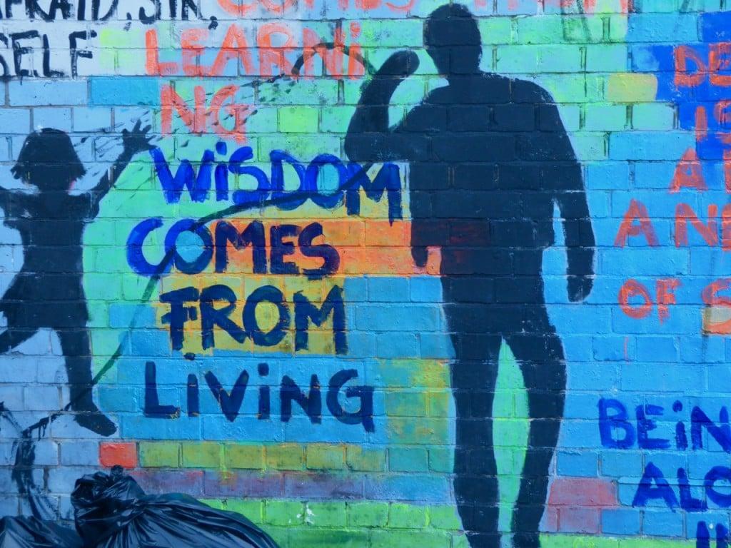 bl wisdom comes