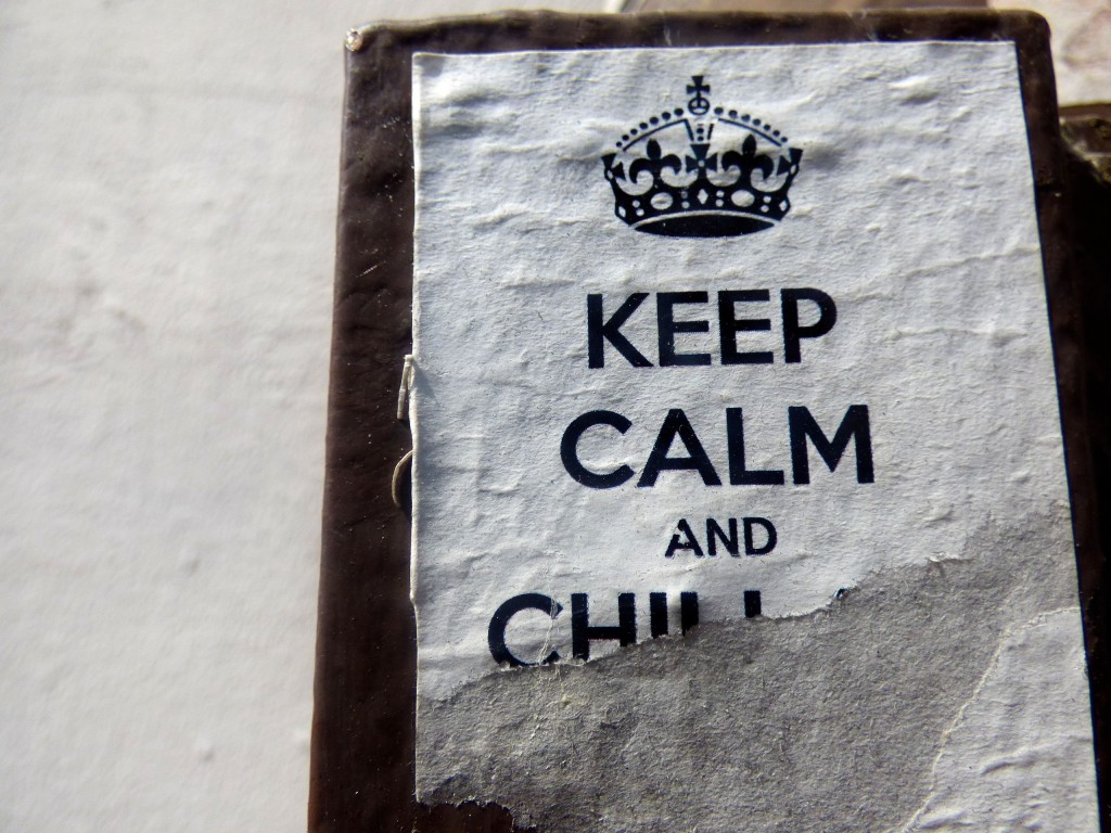 HL keep calm and chill