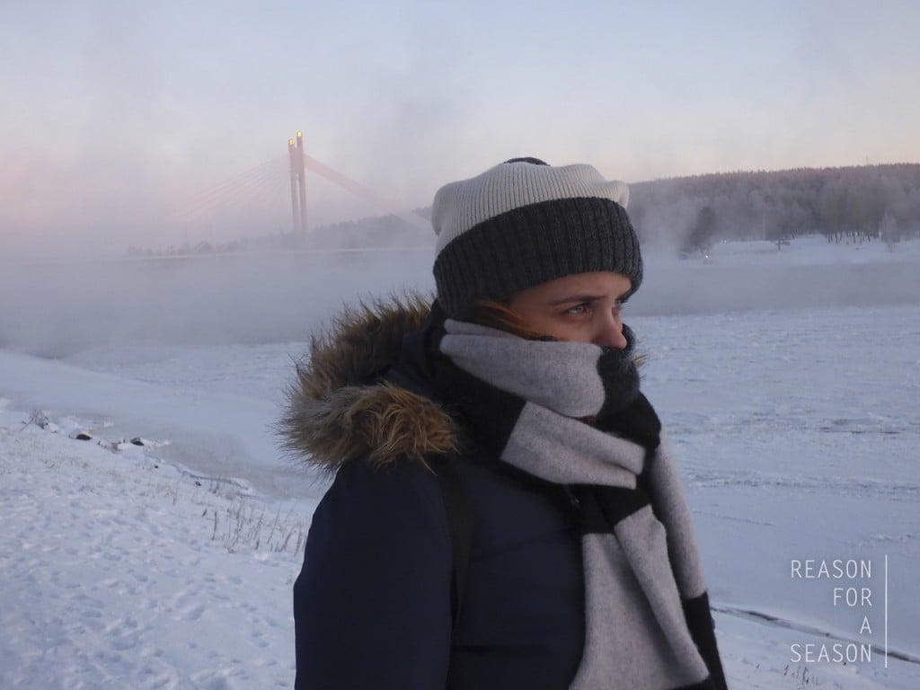 Rovaniemi talvimaisema