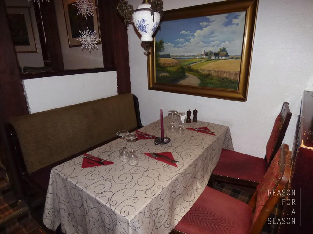 Fransmanni Rovaniemi pöytä