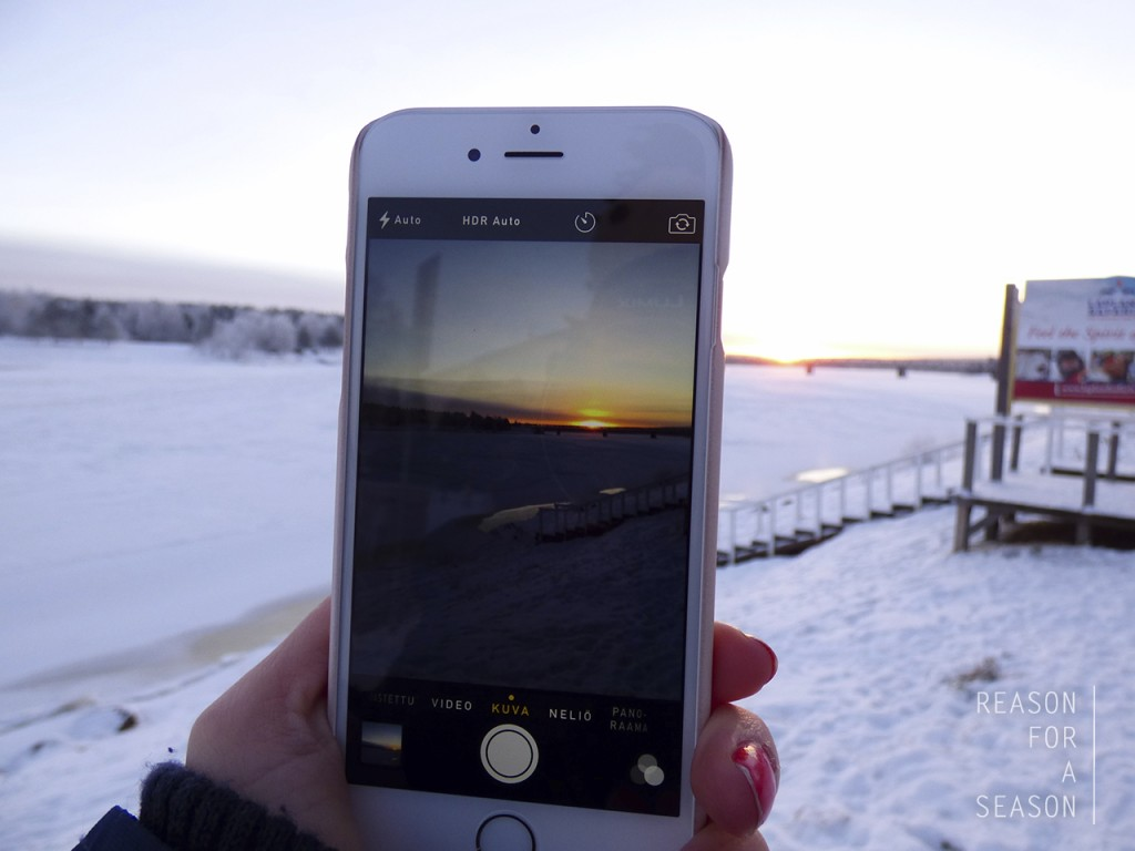 Rovaniemi iPhone