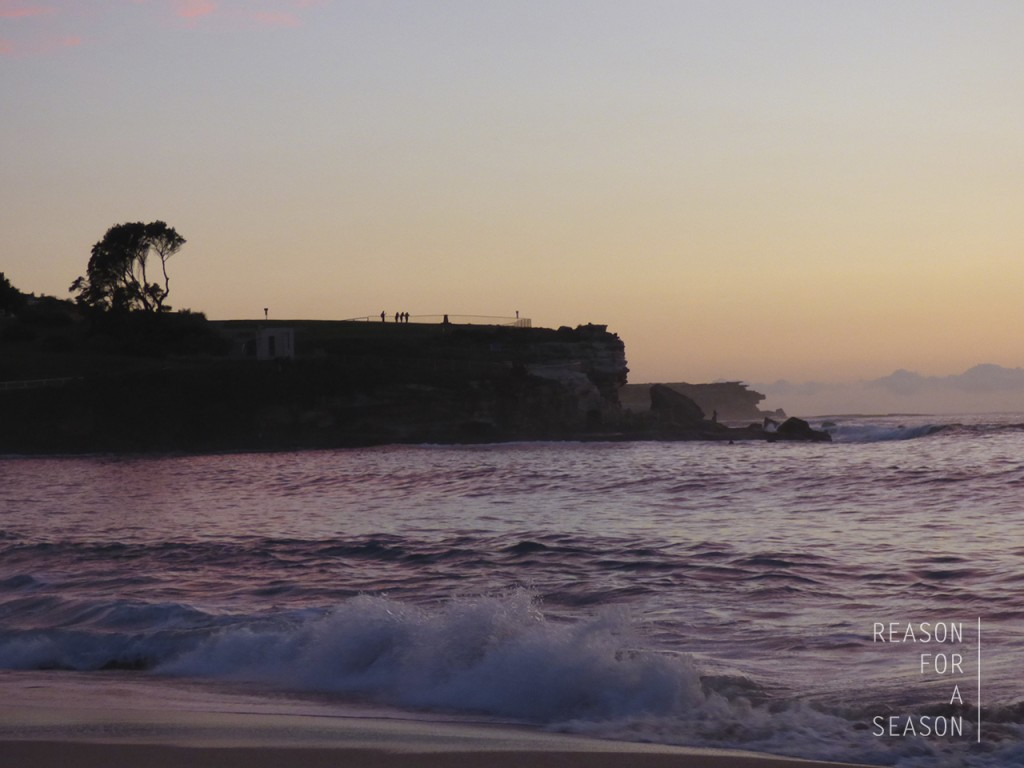 Auringonnousu Coogee