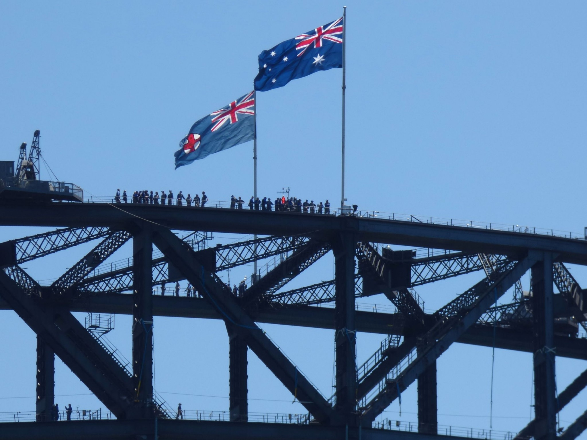 Harbour Bridge siltakiipeily