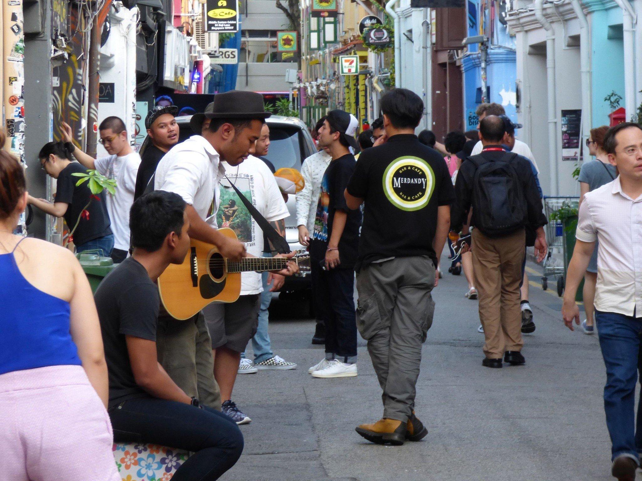 haji lane kitaristi