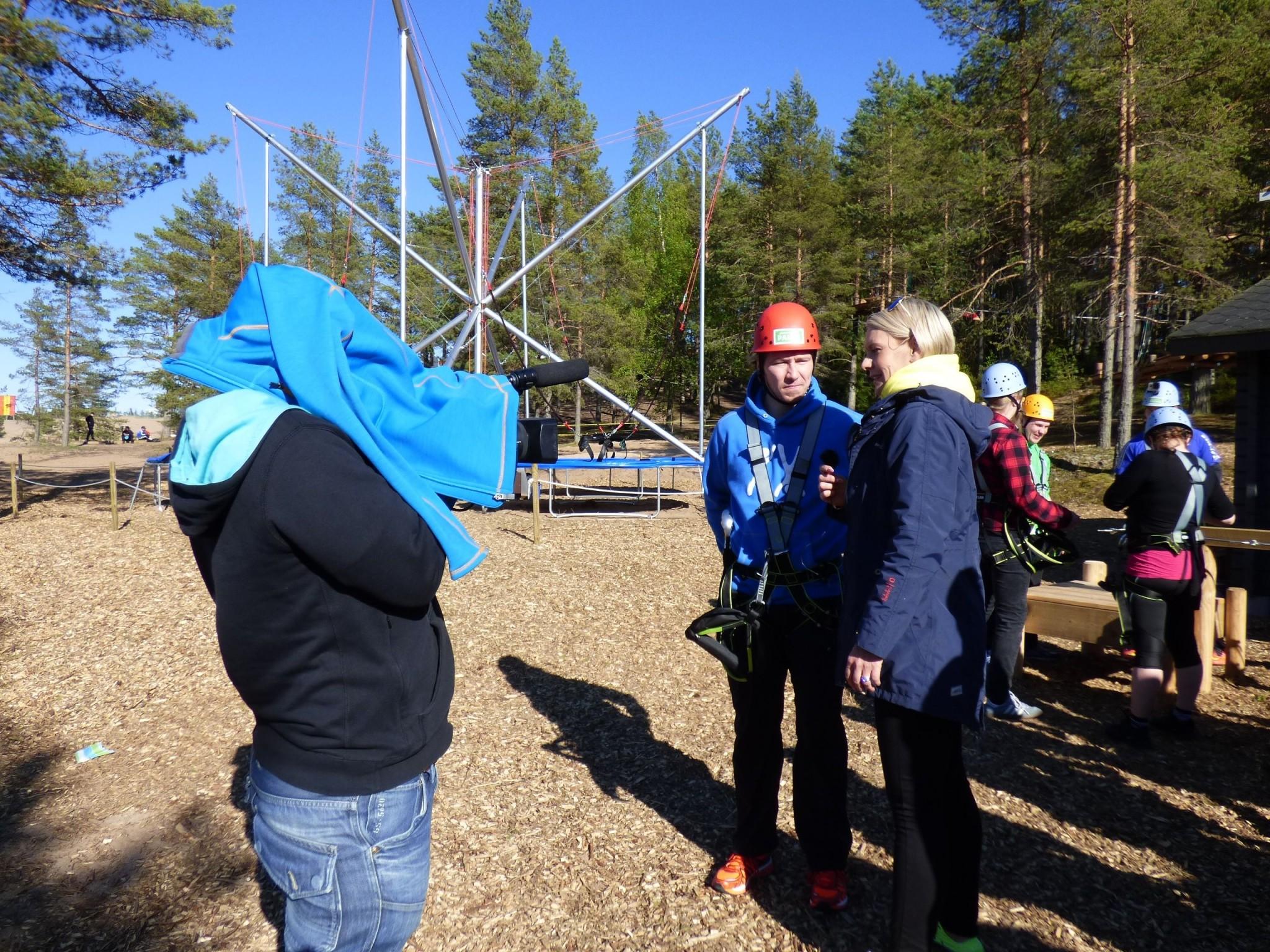 Kalajoen Hiekkasärkät Seikkailupuisto Pakka