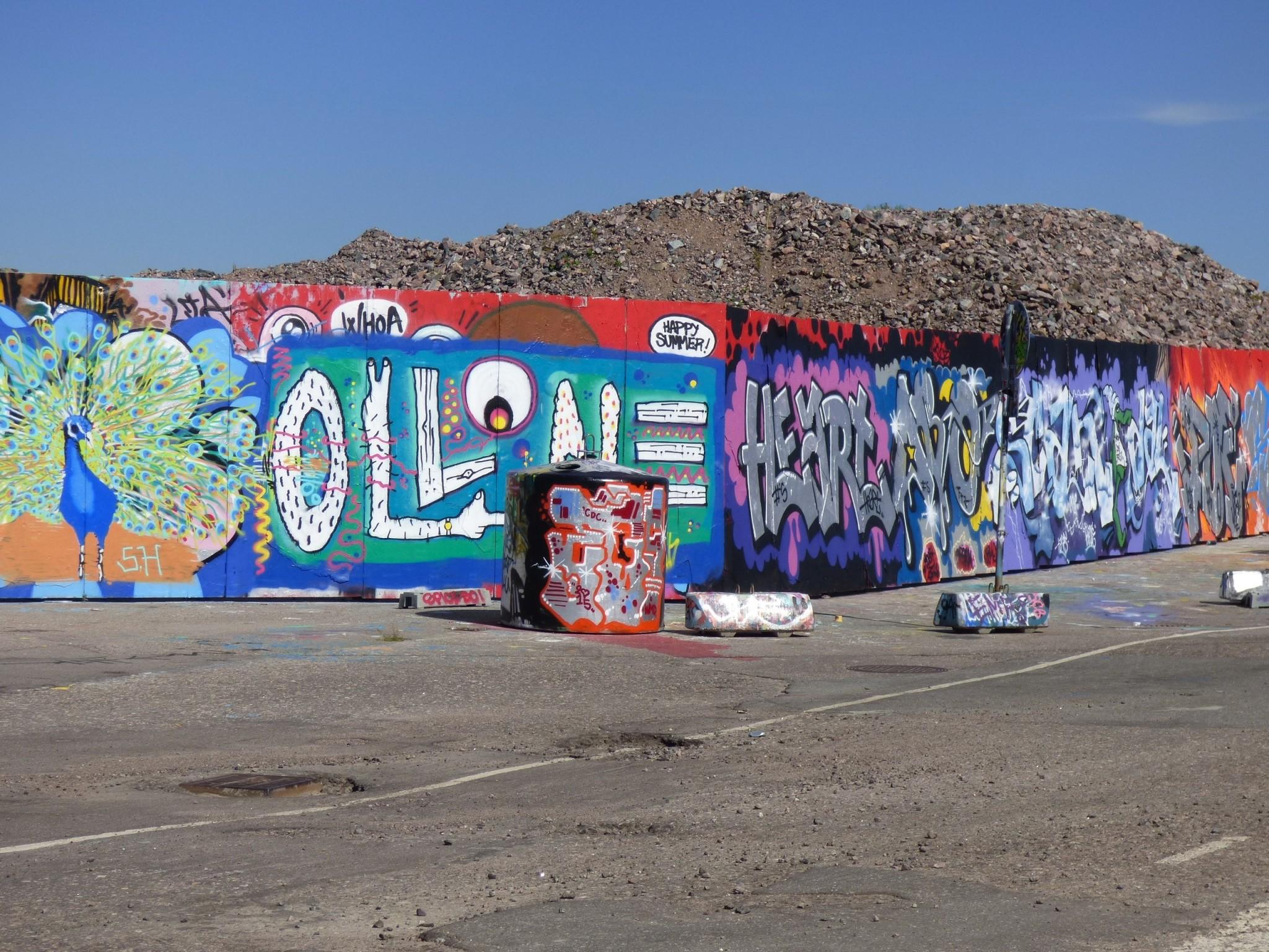 Graffiti Kalasatama