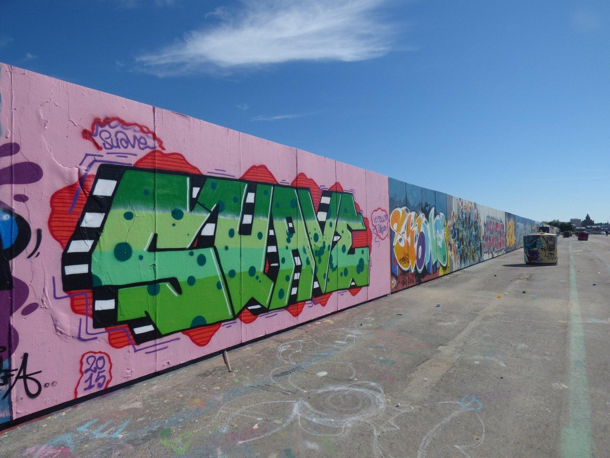 Kalasatama graffiti
