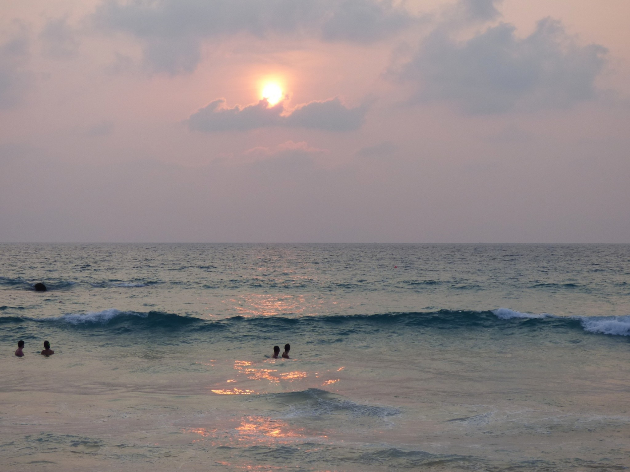 Phuket auringonlasku