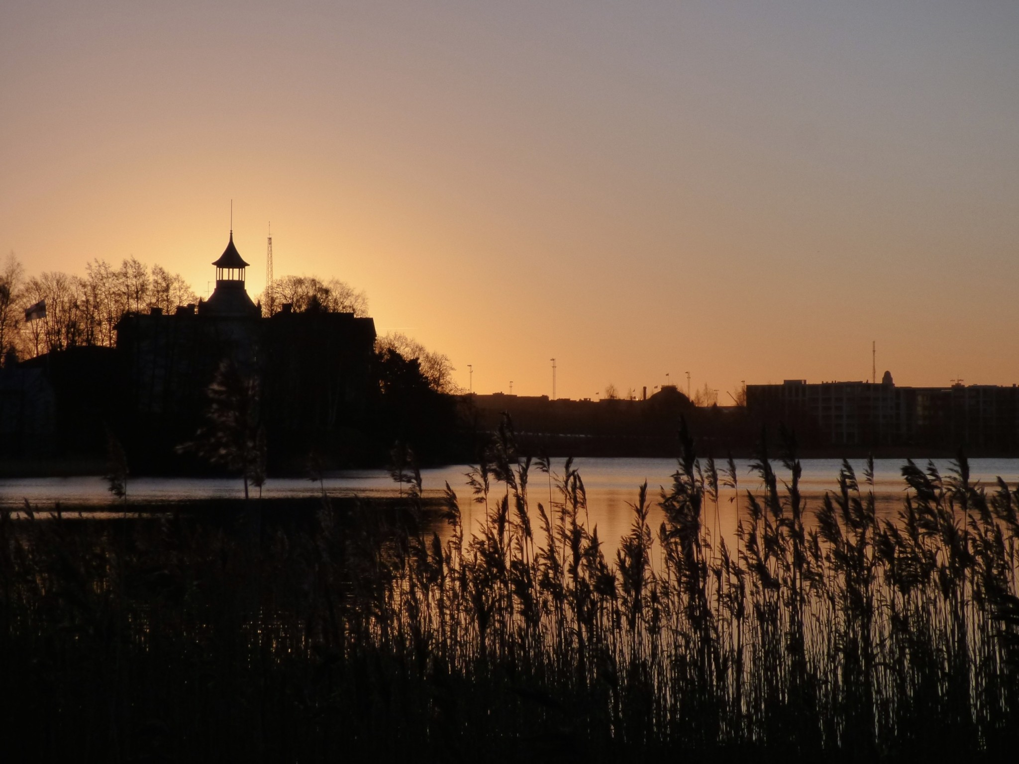 Töölönlahti auringonnousu