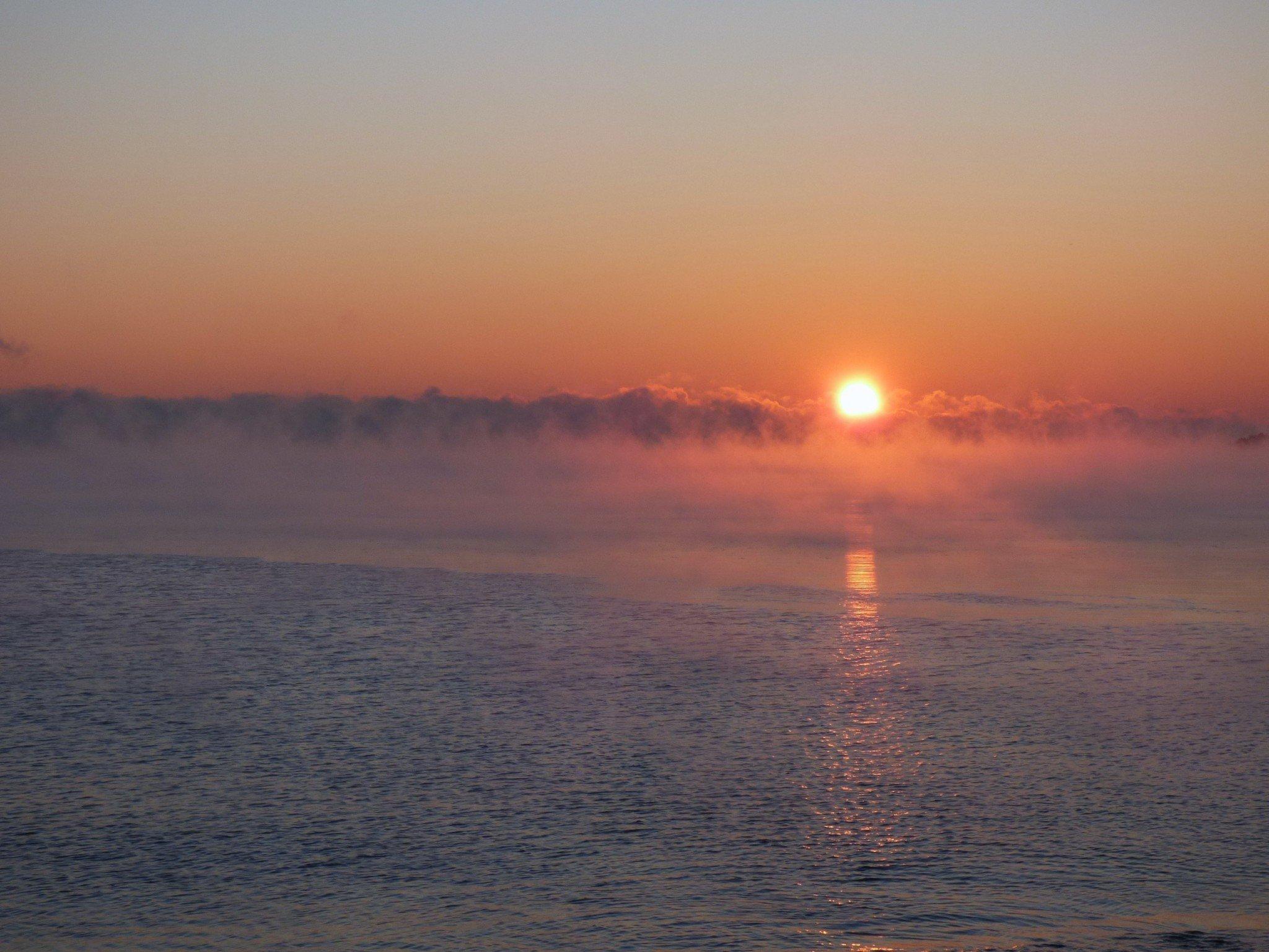 Auringonlasku Kaivopuisto
