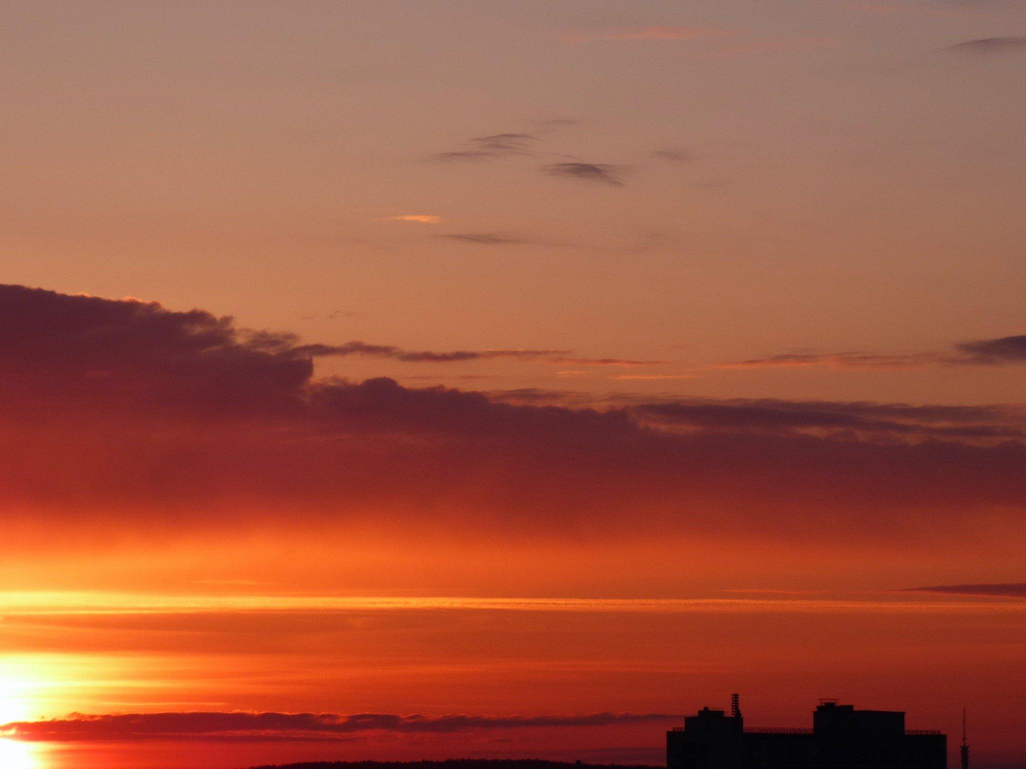 tampere auringonlasku