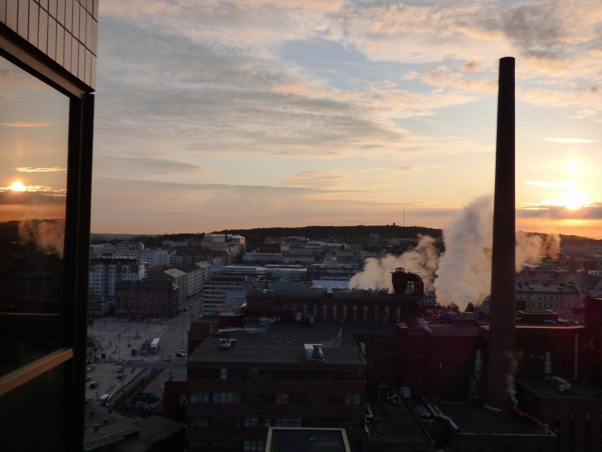 Tampere Auringonlasku Ilves