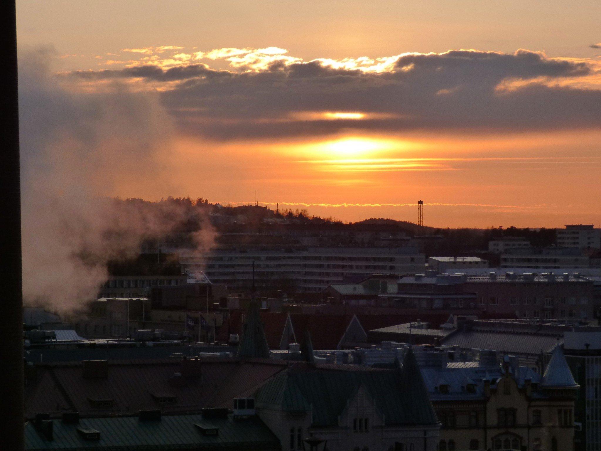 Original Solos Hotel Ilves Auringonlasku