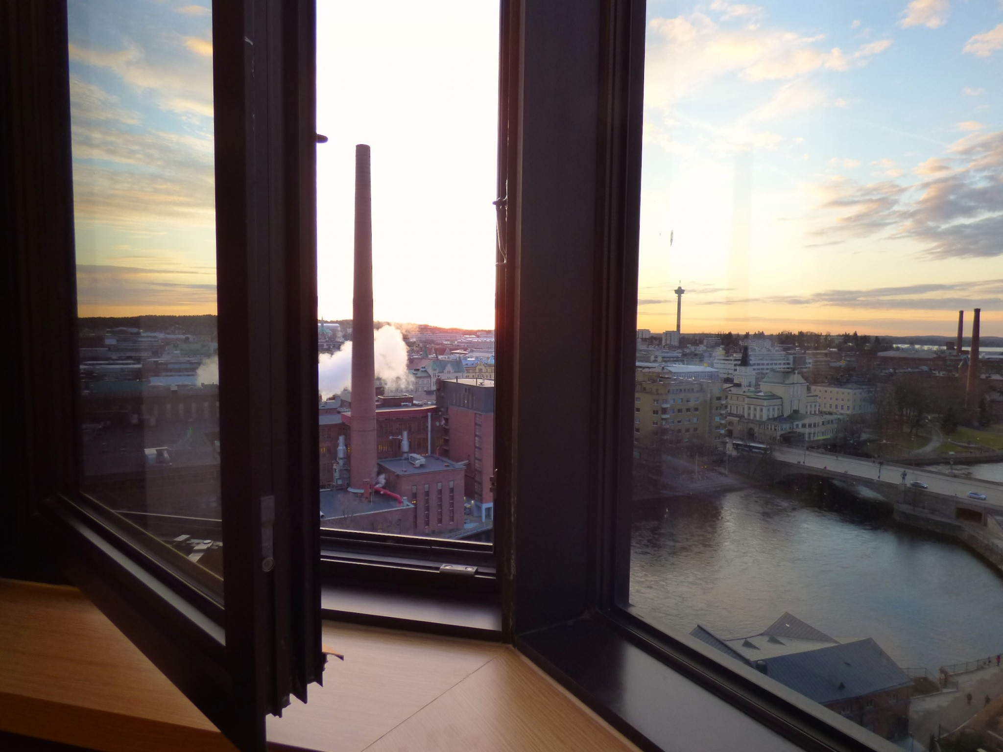 Original Sokos Hotel Ilves auringonlasku