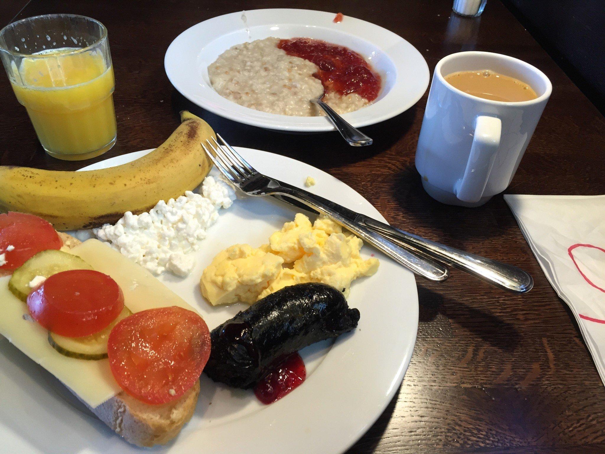 Sokos hotel Ilves aamupala